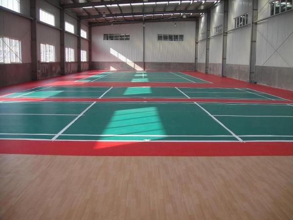 PVC运动地板的特点